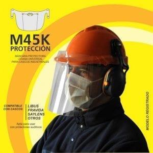 MASCARA PARA TODOS LOS CASCO M45K