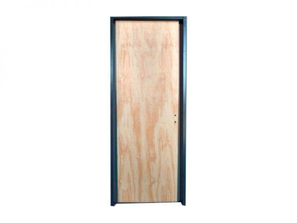 puerta placa marco steeel framing