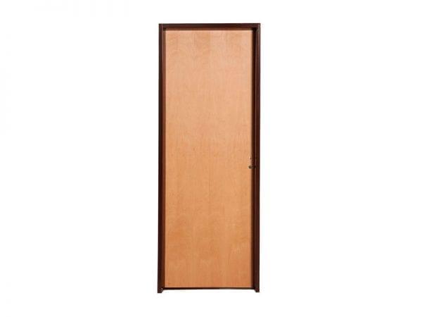 puerta placa tradicional